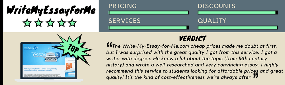 Write my essay for me for cheap